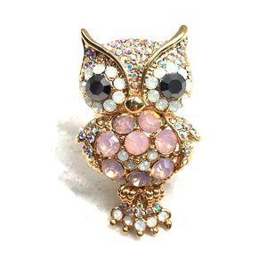 Jewelry - Custom crystal owl ring